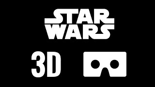 Star Wars SBS 3D VR video Google Cardboard Rogue One Recon not 360°