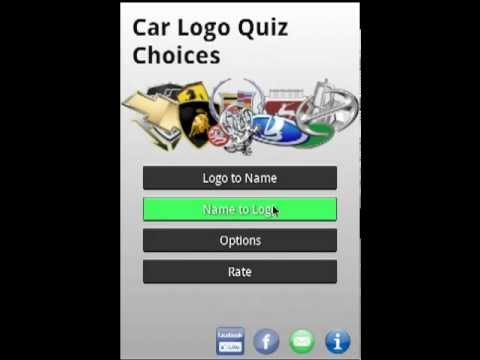Video of Logo Quiz Car Choices