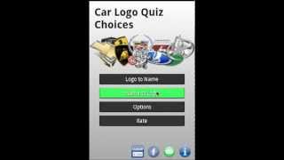 Logo Quiz Car Choices -- Logo Quiz Car android game