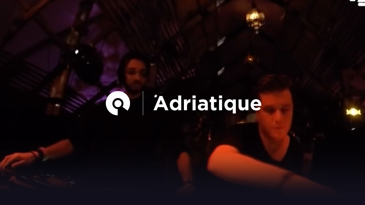 Adriatique - Live @ The BPM Festival 2017, Diynamic In The Jungle, Palapa Kinha