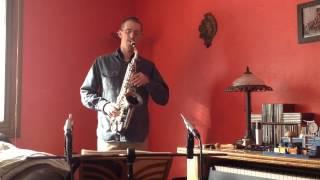 Colin Lippy - Saxophone - Ferling Etude #7