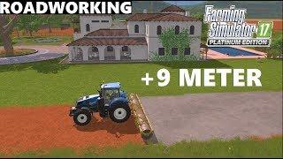Farming Simulator 17 Platinum Edition   +9 METER ASPHALT LAYING   NEW MAP