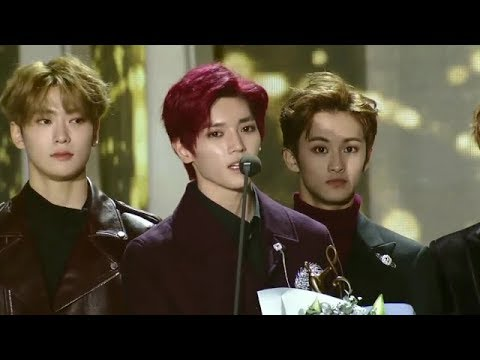 "NCT 127 won  ""Best Dance Performance"" - Seoul Music Awards 2018"