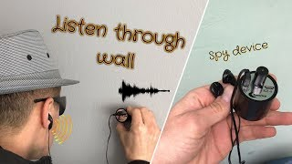 Listen Through Walls Spy Device