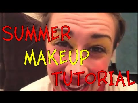SUMMER MAKE UP TUTORIAL!