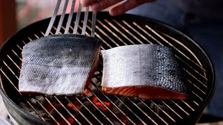 How To Grill A Sockeye Salmon Fillet