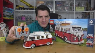 RC-Umbau für den großartigen Bulli! LEGO® Creator Expert 10220 by CustomBricks