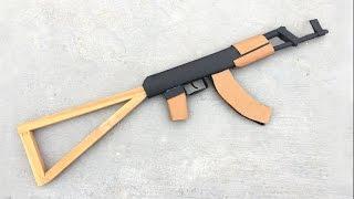 Cómo Hacer un AK-47 que Dispara de Cartón
