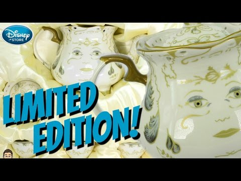 MRS. POTTS & CHIP Limited Edition FINE CHINA TEA SET Review & UNBOXING - Beauty & The Beast 2017