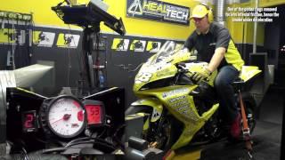 HealTech QuickShifter Easy (QSE) - Dyno Test Run, Suzuki GSX-R750