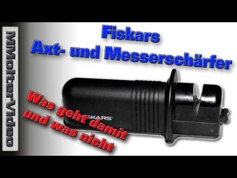 Fiskars Axtschärfer was geht damit und was nicht - Zuschauerfrage an MMolterVideo