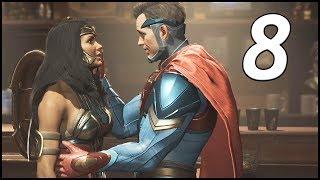 IS SUPERMAN GOOD OR EVIL? - Injustice 2 Walkthrough Part 8