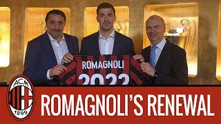 "Alessio Romagnoli interview: ""Here for many years and to win"""