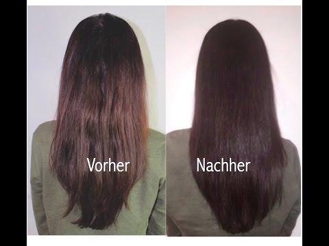 DIY Wunder Haarmaske für gesunde lange Haare Laminierffekt diy haarkur (einfach)