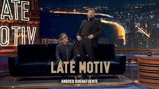 LATE MOTIV - Raúl Cimas. Tratamiento Para La Tortícolis   #LateMotiv556