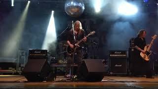 Angel Witch - Gorgon+Confused - live Festa Bikers Cologno Al Serio (BG) 25/08/17 italy