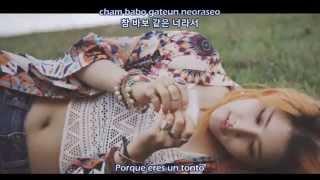 Yang Jiwon (SPICA) - If It's Me (나라면) God's Gift - 14 Days OST [Sub. Español + Hangul + Rom]