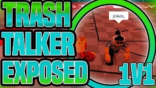 EXPOSING A TRASH TALKER IN A 1V1! **DROPPED OFF** RB World 2