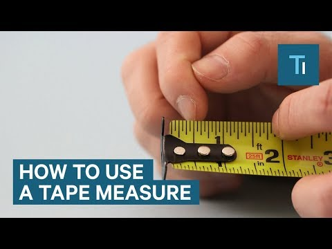 Tape Measure Tips And Tricks