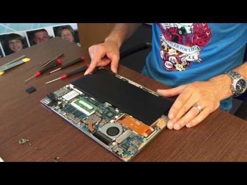 Toshiba Portege Z830 Ultrabook  - wie tausche ich Akku, Lüfter, Speicher, Festplatte, Display etc