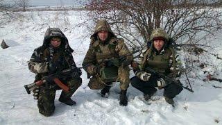 Привет от бойцов 128 горно-пехотной бригады