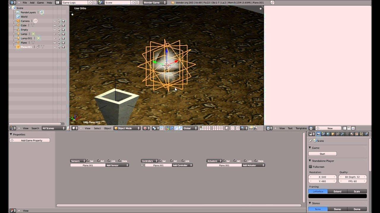 Rauch - Blender 3D Game Engine Tutorial