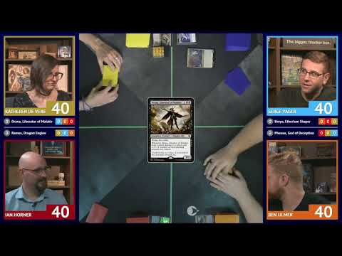 LRRMtG — 4 Player Magic: the Gathering Commander