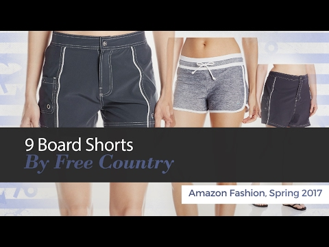 9 Board Shorts By Free Country Amazon Fashion, Spring 2017 Mp3