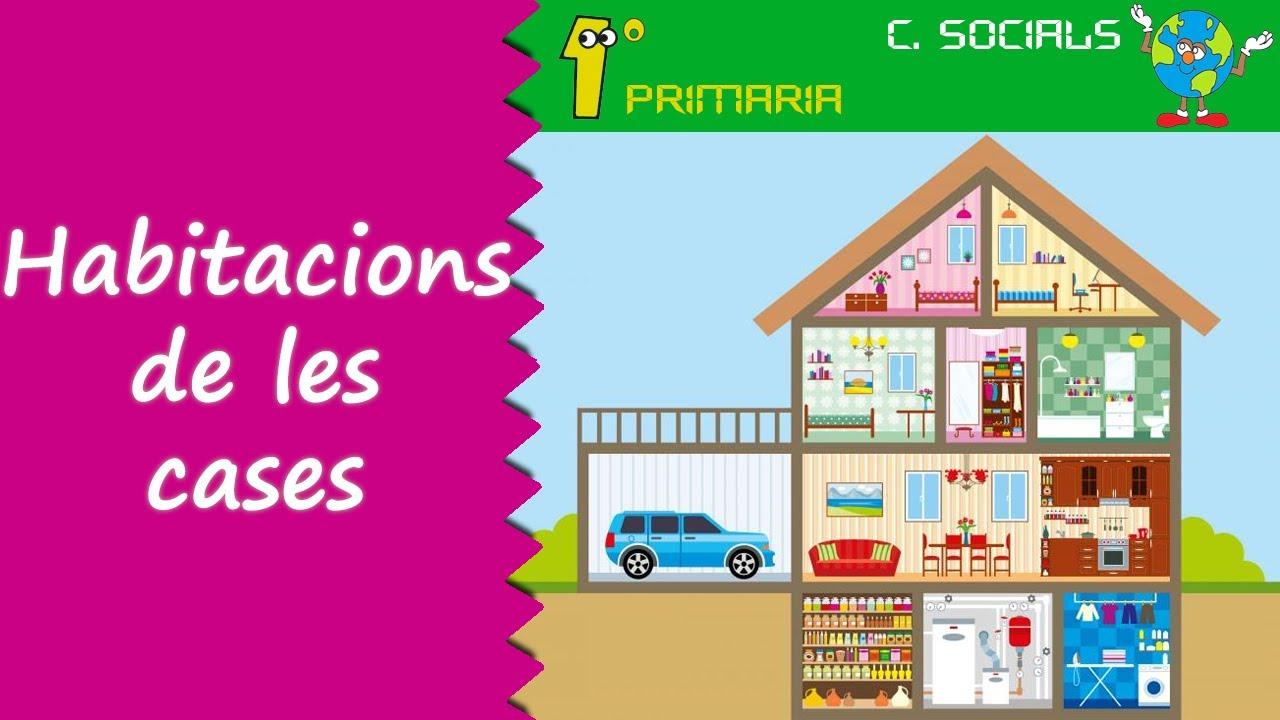 Ciències Socials. 1º Primaria. Tema 2: Les habitacions d'una casa