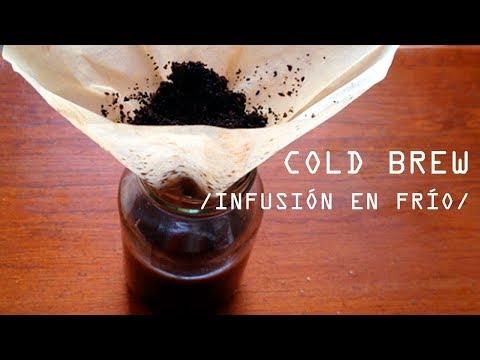 COLD BREW // INFUSIÓN EN FRÍO | CAFÉ