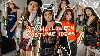 20 HALLOWEEN COSTUME IDEAS USING CLOTHES YOU ALREADY HAVE IN YOUR CLOSET! 2019 (Last Minute)