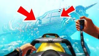 Что находится под водой в разных играх?😱