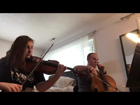 Duo for Viola & Cello by J Lee Graham performed by my daughter Addie and myself during covid19 in March 2020