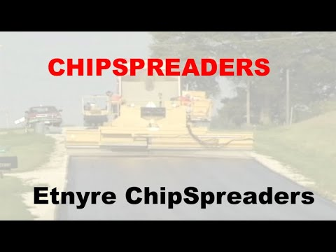 Etnyre Chip Spreader