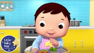 Try Some Vegetables - Little Baby Bum | Cartoons and Kids Songs | Songs For Kids | Moonbug Kids