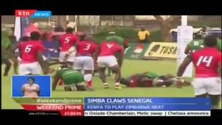 Kenya's Simba maintains their unbeaten run by beating Senegal 45-25