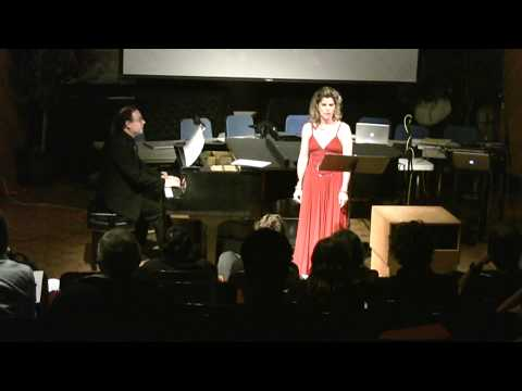 Les Pas for soprano and piano by Eric Chapelle - performed by Julie Brown and Eric Chapelle.
