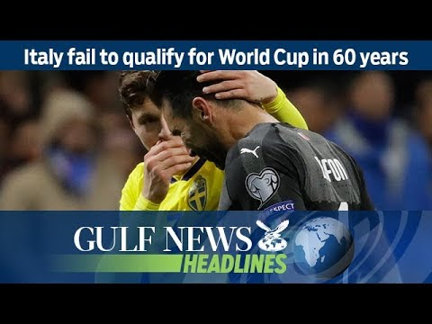 Italy fail to qualify for World Cup in 60 years – GN Headlines