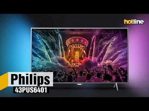 Philips 43PUS6401 – обзор доступного 4К-телевизора на платформе Android TV