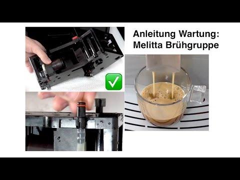 Anleitung Melitta Caffeo Brühgruppe Reinigung, Dichtung wechseln, Einfetten | Wartung DIY