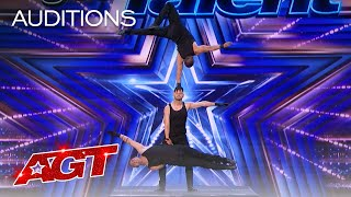 Early Release: Rialcris Delivers Incredible Hand Balancing - America's Got Talent 2021 thumbnail