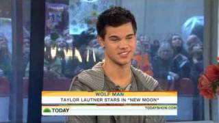 Taylor Lautner On The Today Show (November 20th 2009)
