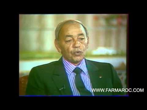 SM le roi Hassan II 30 octobre 1987