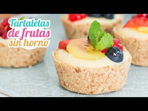 Tartaletas de frutas | Postre sin horno | Quiero Cupcakes!