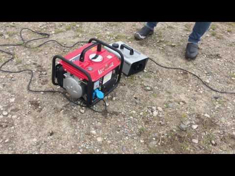 Review: KRAFTHERTZ Stromaggregat 850 Watt