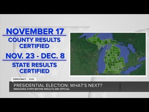 What's next in the presidential election?