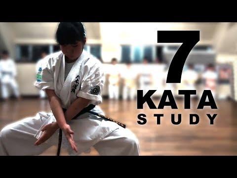 7 Kata Study | Goju-ryu | Meitetsu Yagi