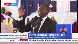 DP Ruto claims the fraudulent Sh39B arms deal is a ploy to kill his political career