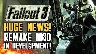 Fallout 3 REMAKE Mod Is In Development for Fallout 4! Huge News for Fallout Fans!