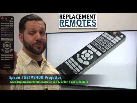 Epson 158198400 Projector Remote Control